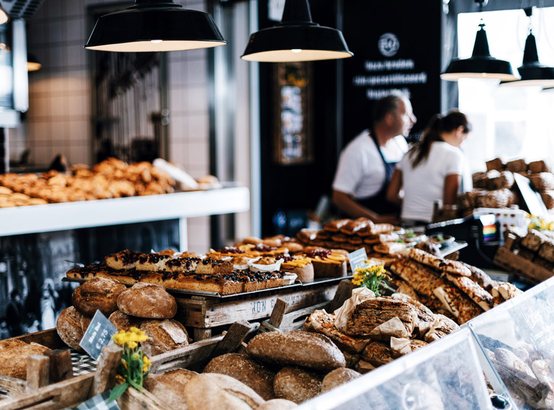 Leckere Brötchen gibt es in Perner's Bäckerei Borkum